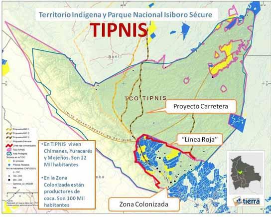 Bolívia - Mapas